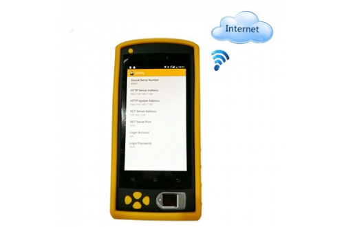 FP05 Handheld 3G Android NFC Biometric Fingerprint Identification Device