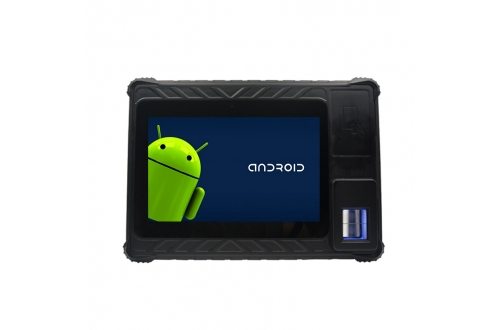 FP08A Andorid 6.0 NFC Rugged Tablet PC with Fingerprint Reader mobile barcode scanner