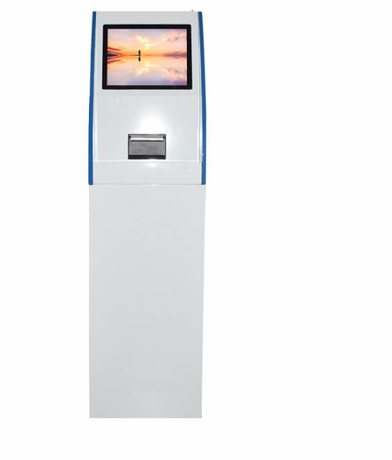 Fingerprint EMV Card Payment Banking POS Kiosk Terminal,All-in-one function self-service Kiosk