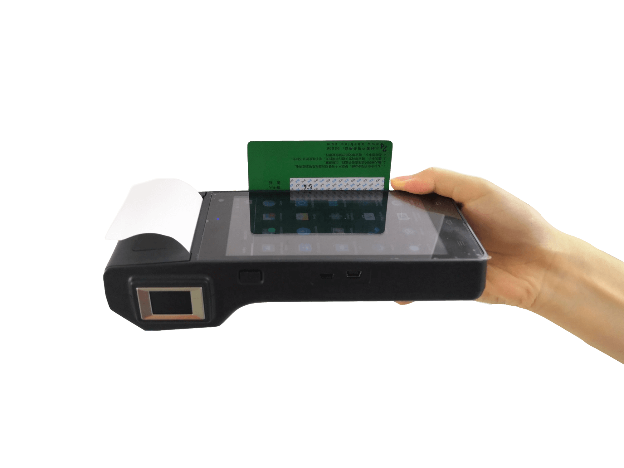HFSecurity HP605 EMV Fingerprint Pos Terminal