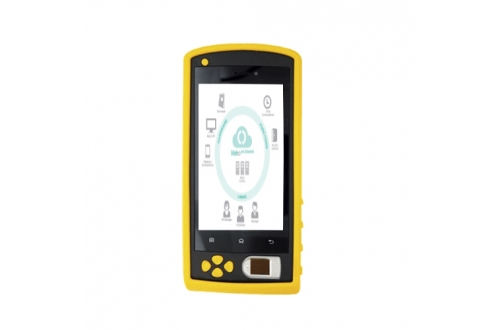 FP05  Biometric Rugged Android NFC Fingerprint Device warehouse barcode scanner