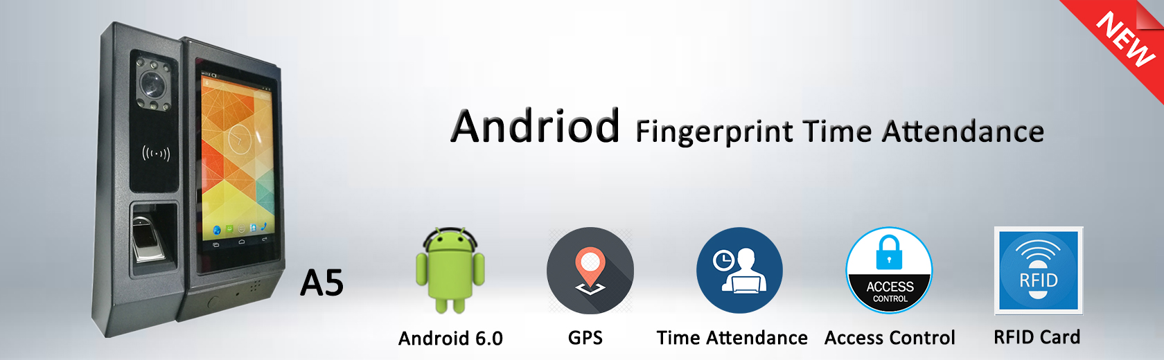 Android Fingerprint Time Attendance