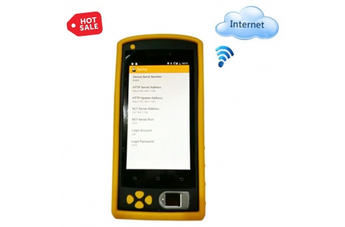 FP05 Handheld 4G Android NFC Biometric Fingerprint Identification Device