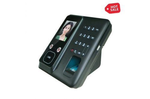 FR602 Linux Biometric Facial Fingerprint Card Recognition Time Clock Machine