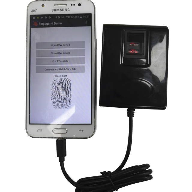 Smart Fingerprint Scanner With Smart Fingerpirnt Tablet