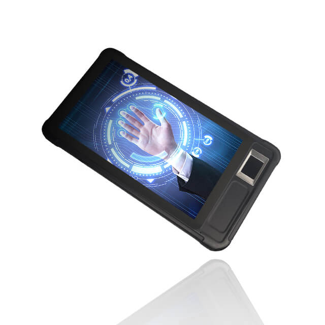 FP07P Android 4G Fingerprint Handheld Terminal With FBI Scanner